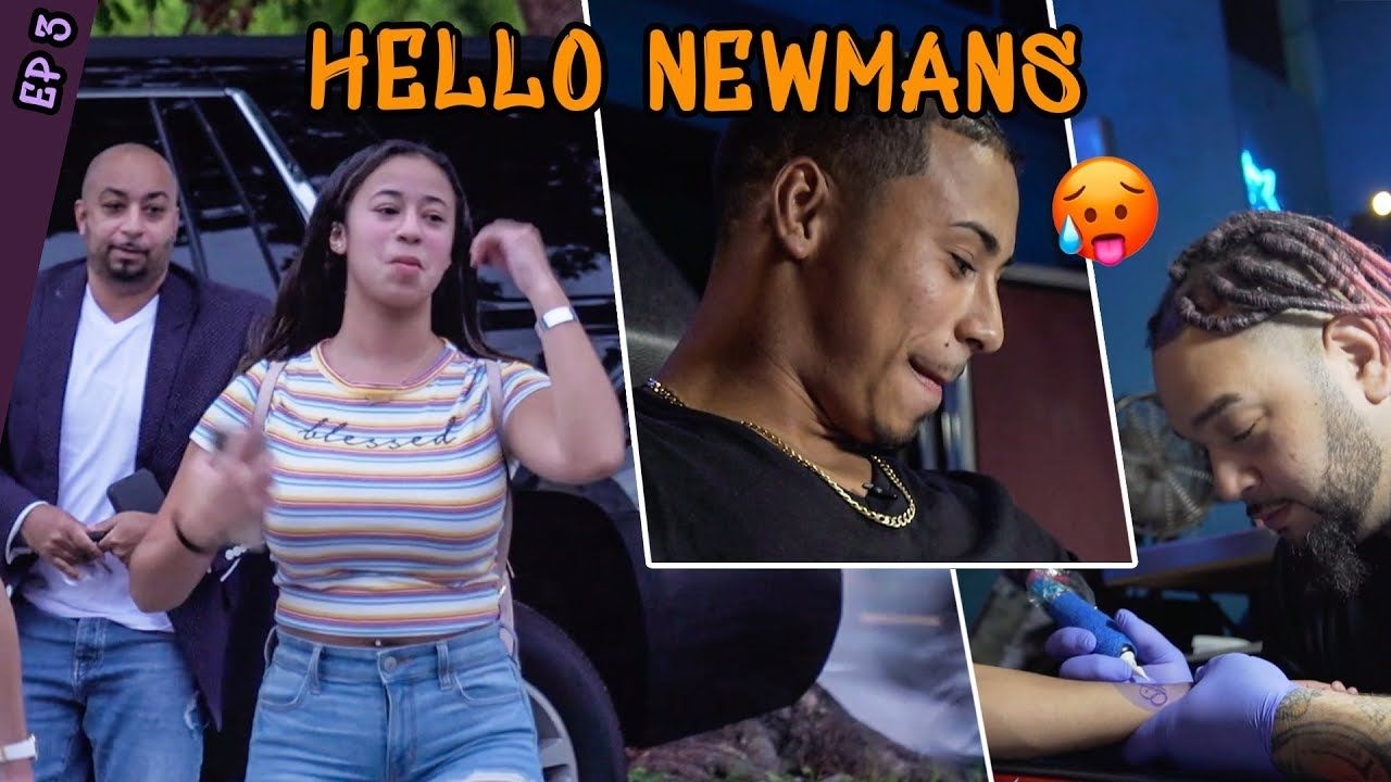 """She's A Hooper Not A BELLY DANCER."" Jaden Newman Fights With Her Dad & Julian Gets A TATTOO!?"