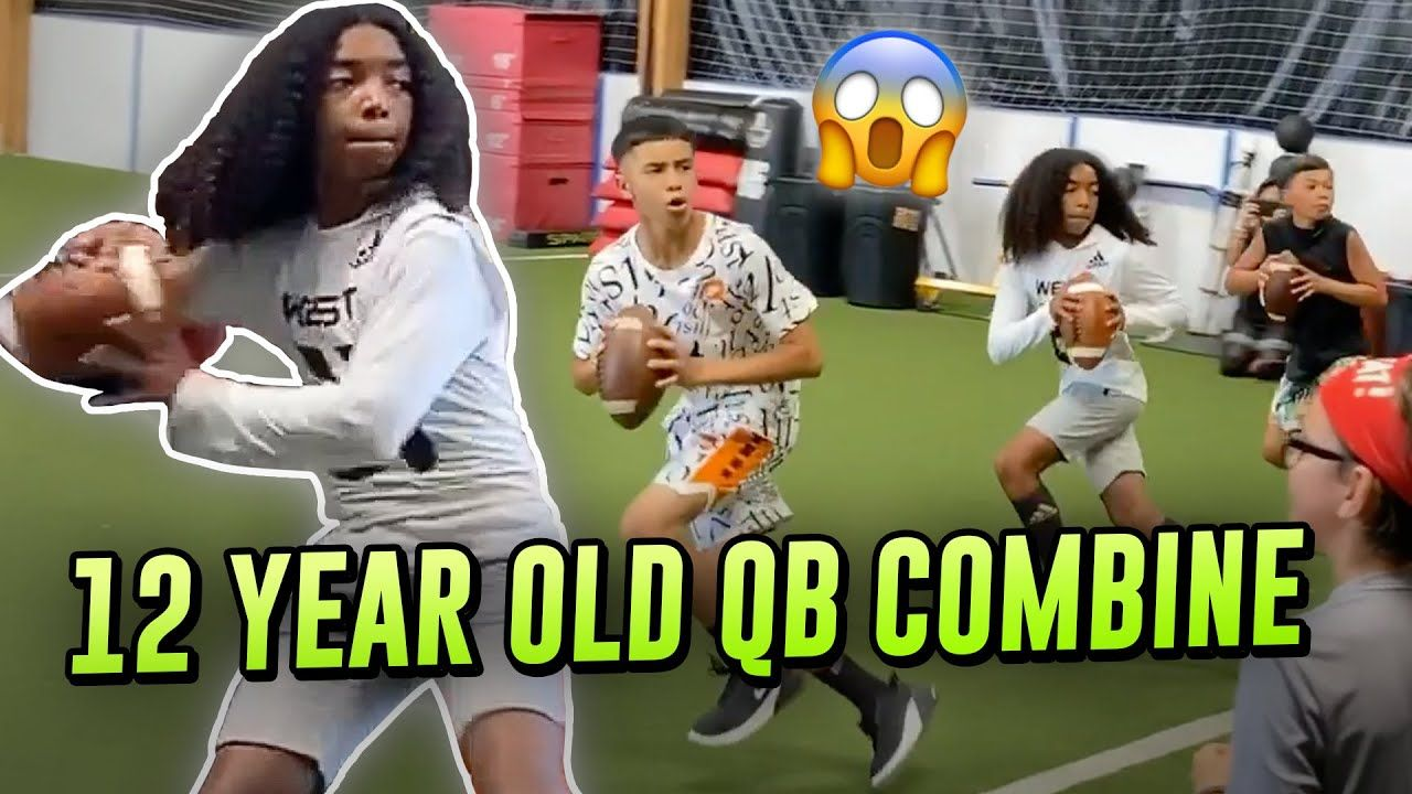 12 Year Old Phenom Jaden Jefferson GOES OFF At Young QB Camp! Behind The Scenes With Future Star 🤩