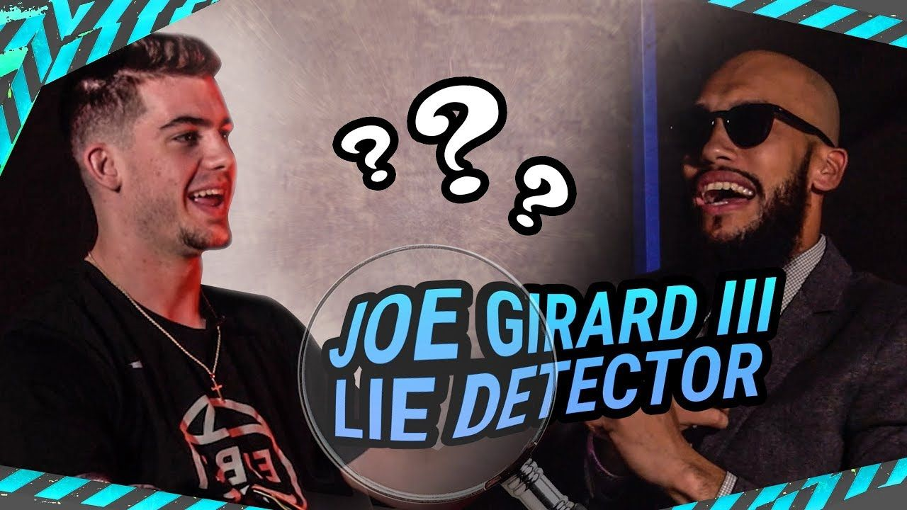 Joe Girard Gets ROASTED On Lie Detector! Talks Blowing In People's Ears & Not Choosing DUKE 😭