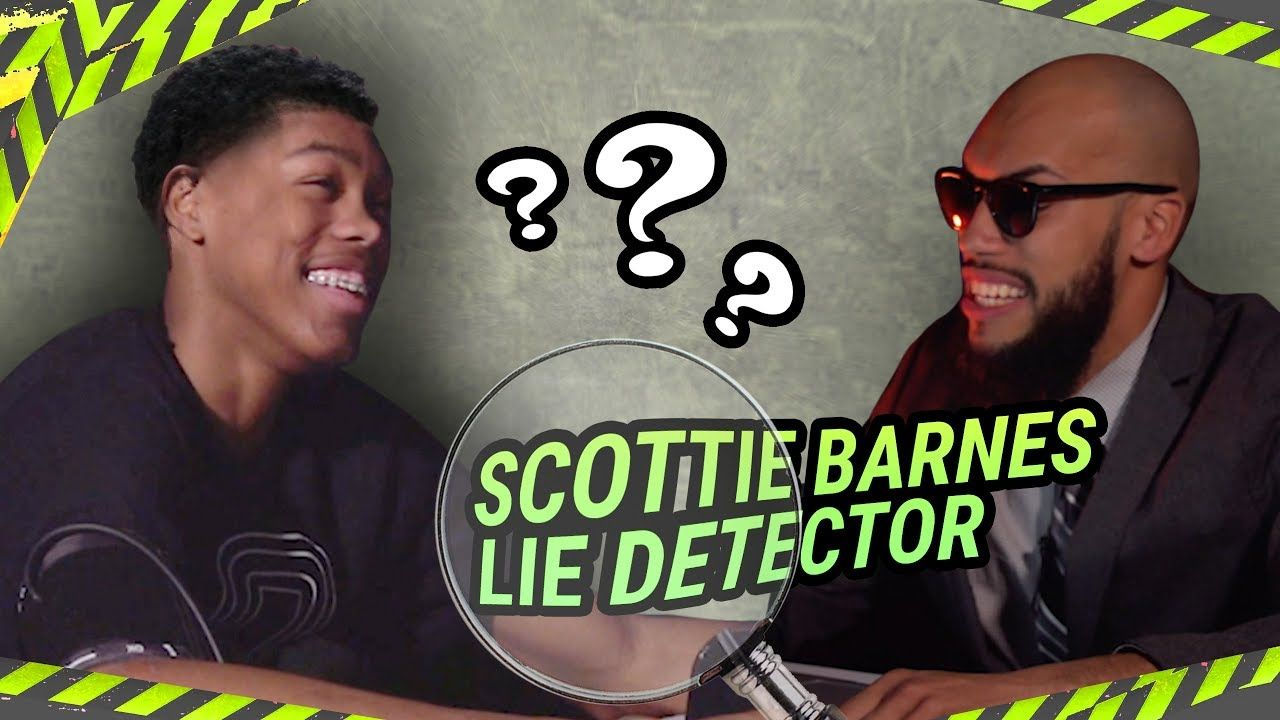 """Why You Always FLEXING?"" Scottie Barnes Gets PRESSED About Young Thug & Committing On LIE DETECTOR!"