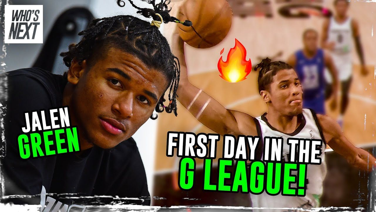 """Jalen Green's 1st Day On G League Ignite! Future #1 Pick? """"I Wanna Be The Best Player In The League"""""""