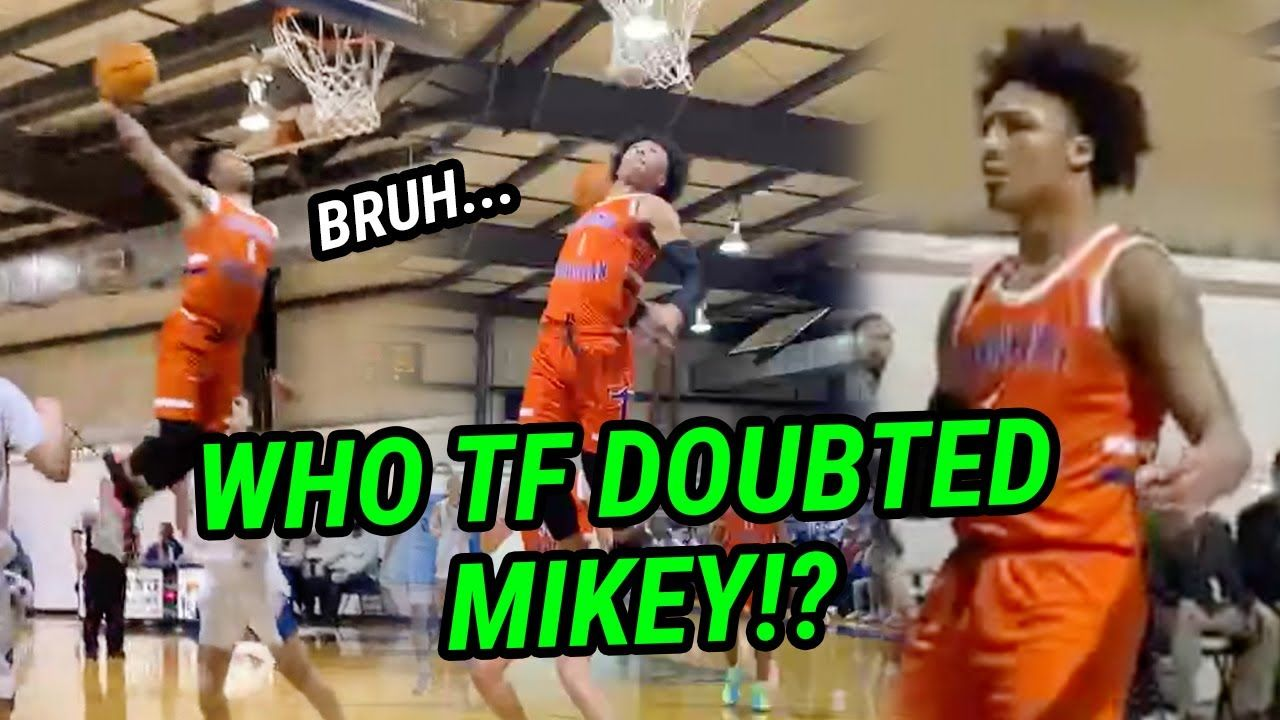 """Mikey Williams GOES OFF After Coach Yells """"He Can't Shoot!"""" He's Back Dropping 30 Balls 😱"""