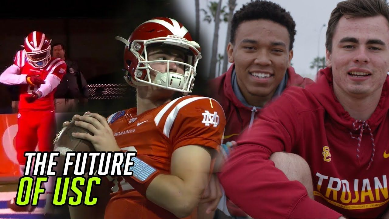 We Worked Out With USC's JT Daniels & Amon-Ra St. Brown! College Football's New Dynamic Duo Is 🔥