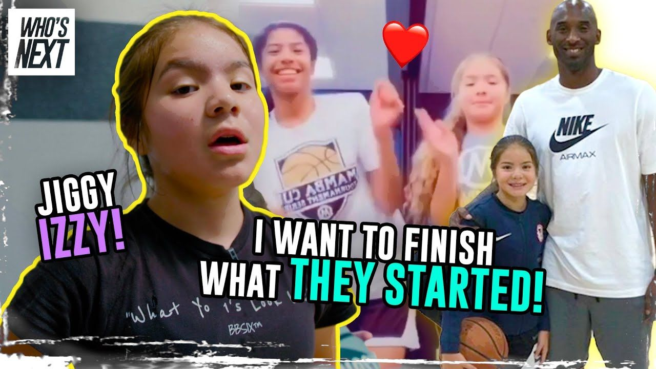 """I'm Tryna Make Her The BEST Of All Time!"" Jiggy Izzy Opens Up On Kobe & Shows Her INSANE Workout 😱"