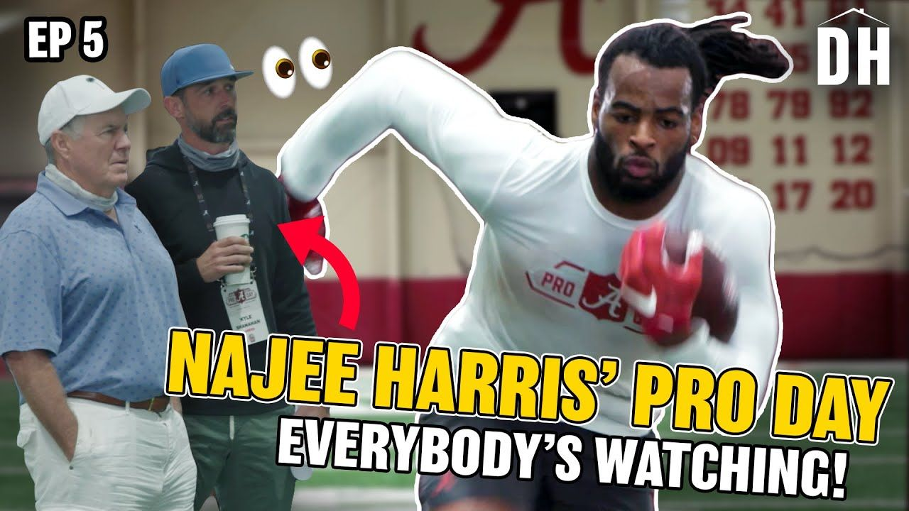 """""""I Was MAD!"""" All Access At ALABAMA Pro Day With Najee Harris! Jaylen Waddle Can't Run!?"""