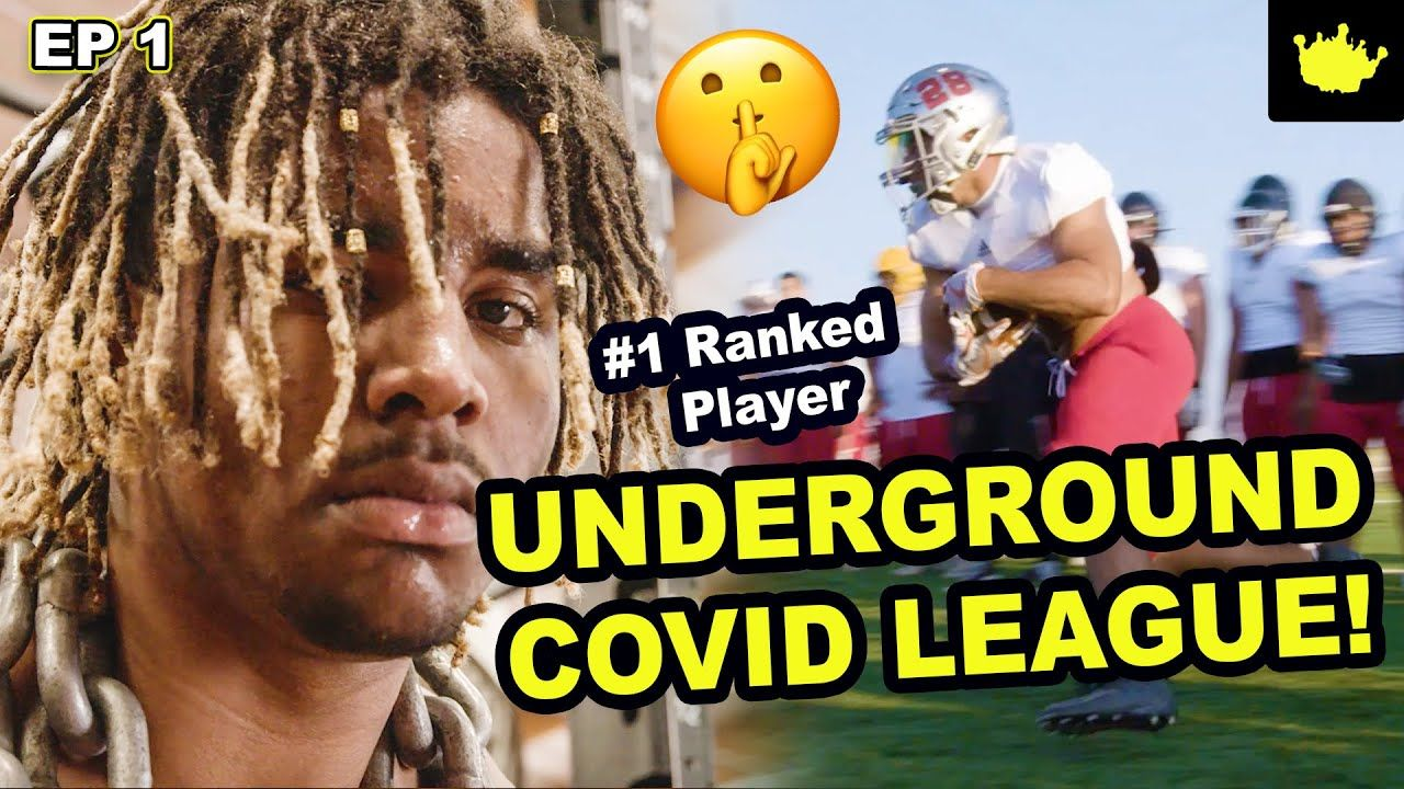 #1 Player Korey Foreman Joins UNDERGROUND Football League During Covid! Next Chase Young!?